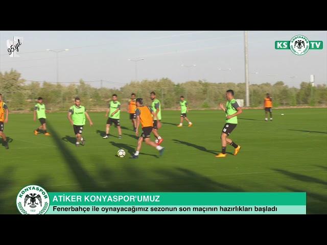 Takımımız sezonun son haftasında oynanacak Fenerbahçe maçının hazırlıklarına başladı