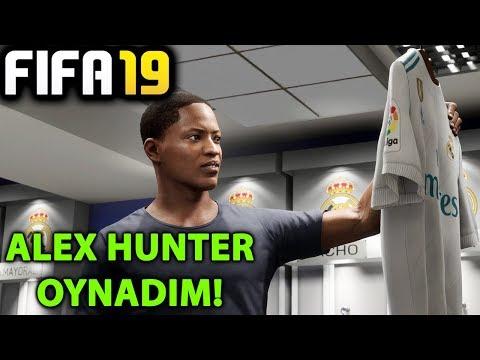OYNADIM! RONALDO GİTTİ ALEX HUNTER GELDİ | FIFA 19 YOLCULUK MODU streaming vf