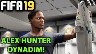 OYNADIM! RONALDO GİTTİ ALEX HUNTER GELDİ | FIFA 19 YOLCULUK MODU #01