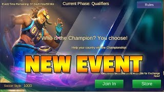 COUNTRY VS COUNTRY EVENT - MOBILE LEGENDS NEWS