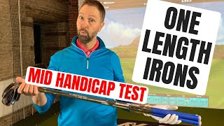 MID HANDICAP GOLFERS PERFECT IRONS? - Cobra One Length Irons
