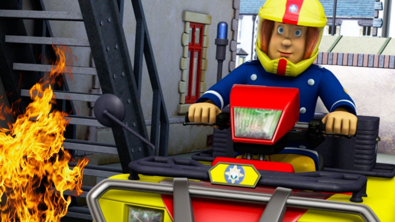 Sam le pompier francais 2018 sam pompier contre les flammes pisode complet dessin anim - Dessin pompier facile ...