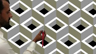 3D wall painting | design of wall painting | optical illusion 3D wall design | interior design ideas