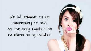 kathryn bernardo - mr dj lyrics