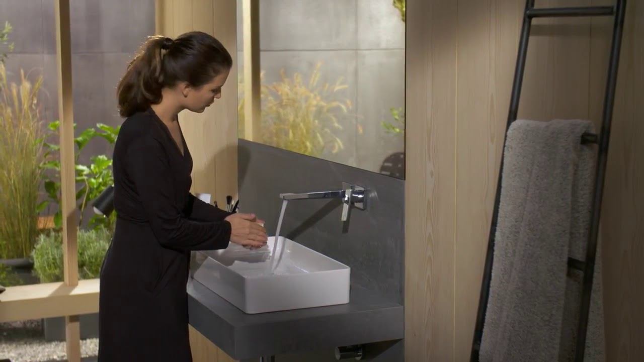 Смеситель Hansgrohe Metropol #32526000 - YouTube