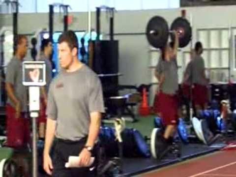 Harvard Crimson Strength and Conditioning Video