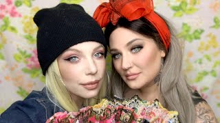 Full Face High End Makeup vs. Drug Store Makeup, Can You Tell The Difference? + Our First WIGS!