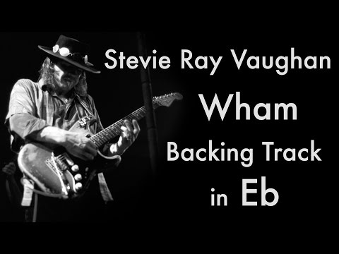 Stevie Ray Vaughan - 'Wham' Backing Track (12 Bar Blues in Eb major) mp3