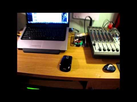 My BedroomMusic RoomRecording Studio Tour  June 2012  HD