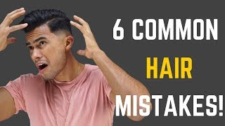 6 Common Hairstyle Mistakes That RUIN Your Hair