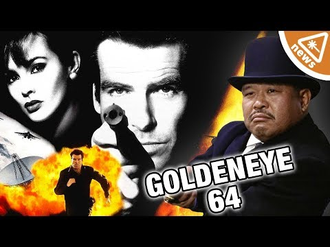 Why Using Oddjob in N64's Goldeneye Is Officially Cheating! (Nerdist News w/ Jessica Chobot)