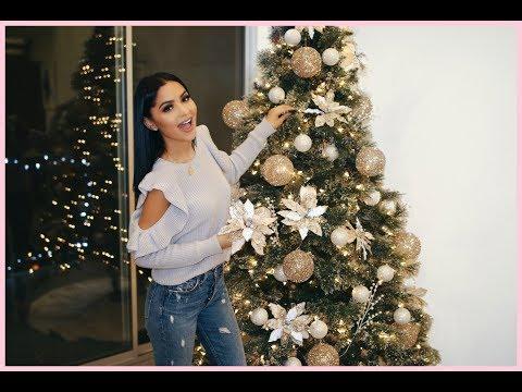 Decorating Our Home - Glam Christmas Tree 2017 | Diana Saldana