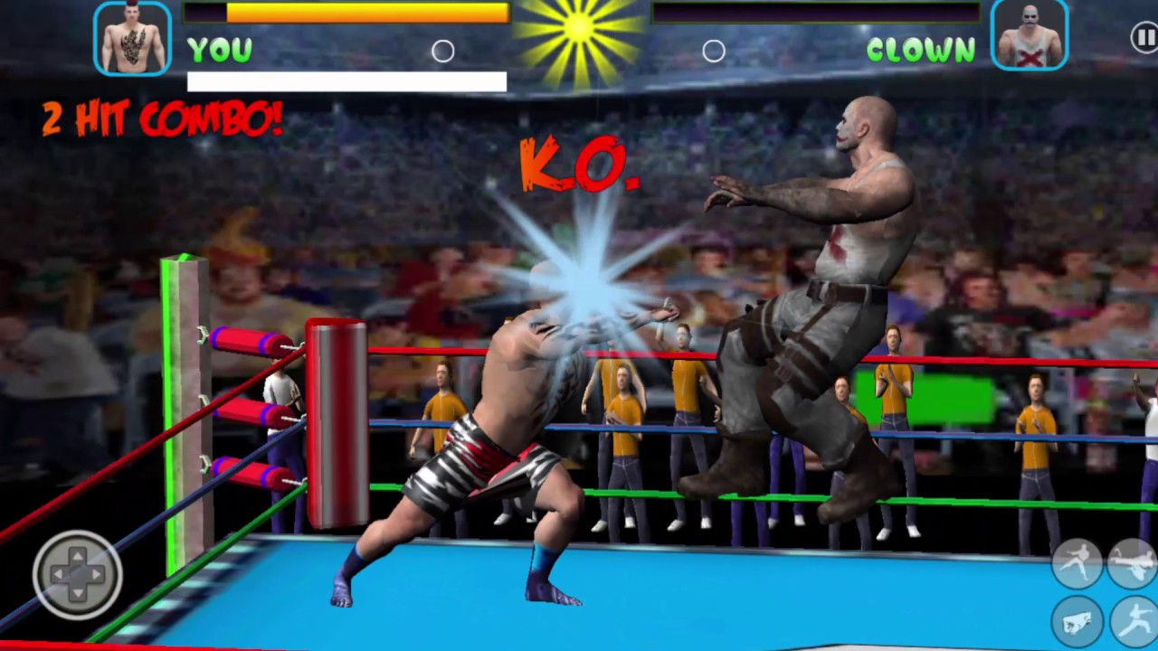 Wrestling Fight Revolution 17 Android Gameplay