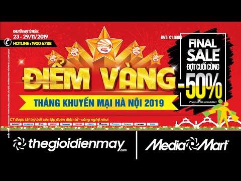Điểm Vàng Tháng Khuyến Mại Hà Nội 2019 – Final Sale – Đợt Giảm Giá Cuối Cùng