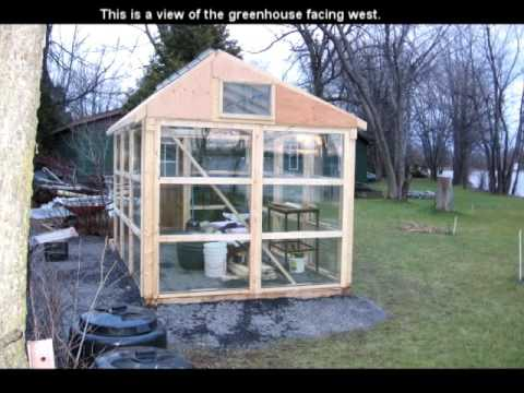 How To Build A Greenhouse Using Only Windows Wood