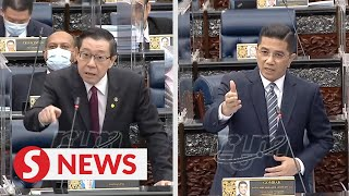 Azmin justifies Apec spending, gets into heated argument with Guan Eng
