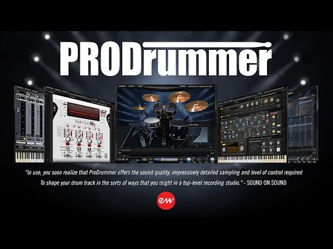 EastWest ProDrummer Overview