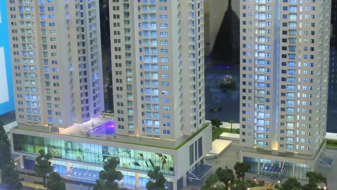 Mô hình căn hộ King Center   Làm mô hình nhà cao tầng   Làm sa bàn