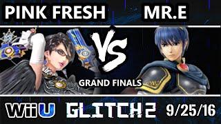 Glitch 2 Smash 4 - VGBC | Pink Fresh (Bayonetta) Vs. SS | Mr. E (Marth) SSB4 Grand Finals