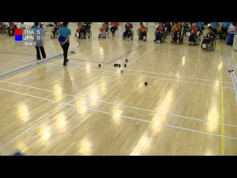 BISFed Asia and Oceania Boccia Team and Pairs Championships 2015 - Match replay (THAILAND VS JAPAN)