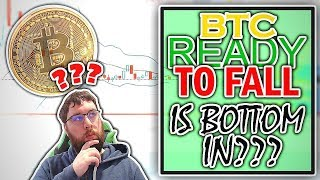 Is Bitcoin Ready To Fall Lower Or Is The Bottom In? We Discuss In Todays Technical Analysis.