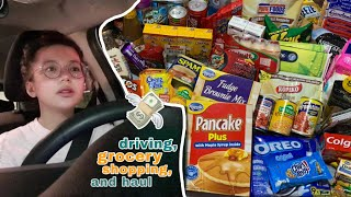 DRIVING, GROCERY SHOPPING, and HAUL | Philippines