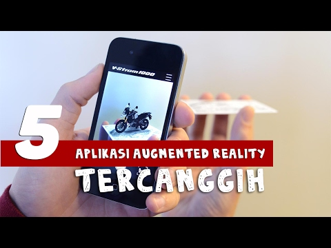 5 APLIKASI AR (AUGMENTED REALITY) TERCANGGIH DI ANDROID/IOS