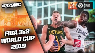 LIVE 🔴 - FIBA 3x3 World Cup 2019 - Pool Phase - Day 2 (2/2) - Amsterdam, Netherlands