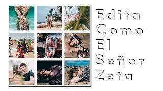Cómo Editar Como El Señor Zeta // @sr_zeta