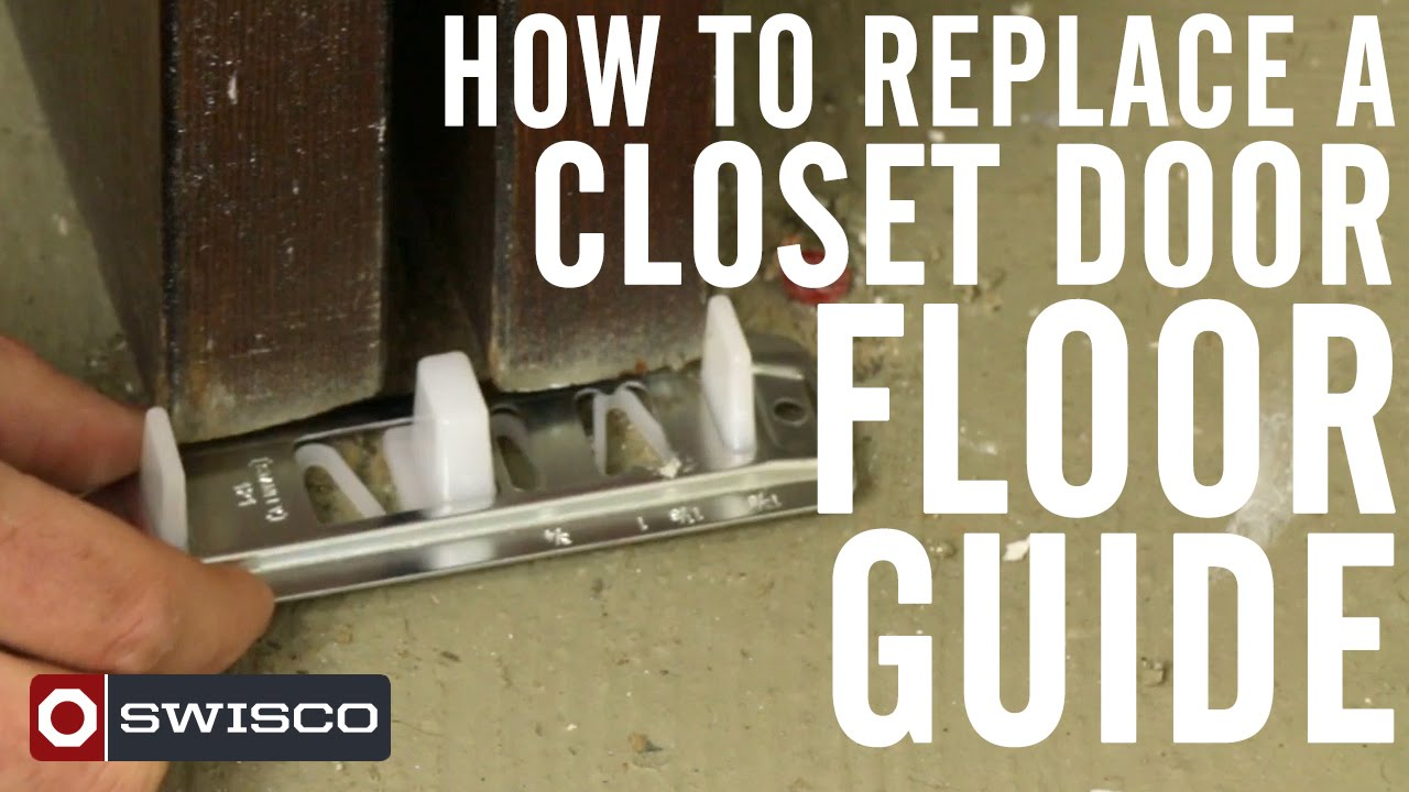 How To Replace A Closet Door Floor Guide 1080p Youtube