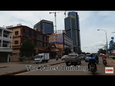 Vientiane Laos Tallest Building and sightseeing the City