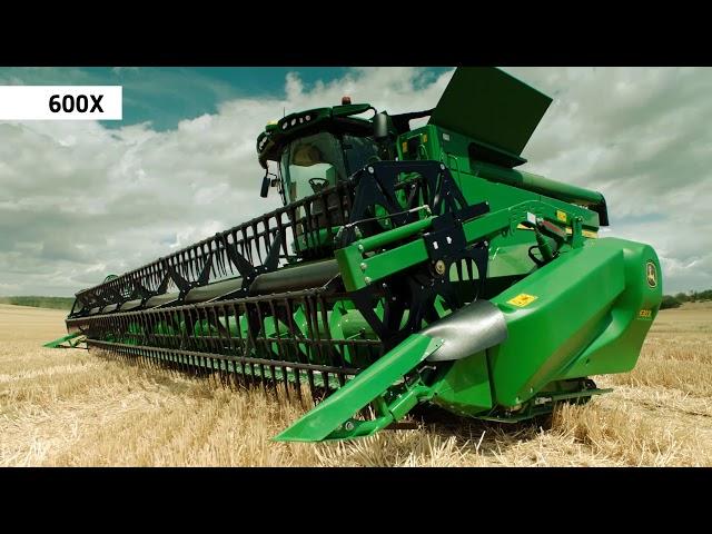 John Deere Serie S700 la cosechadora automatizada 6 – Cabezales de alto rendimiento