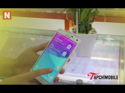 Hướng dẫn cách kiểm tra chi tiết Samsung galaxy Note 4 xách tay