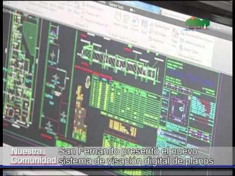 C5Tv -  San Fernando presentó el nuevo sistema de visación digital de planos