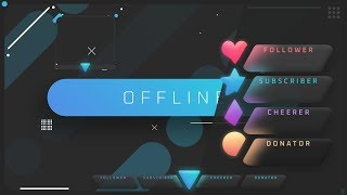 Free animated overlay
