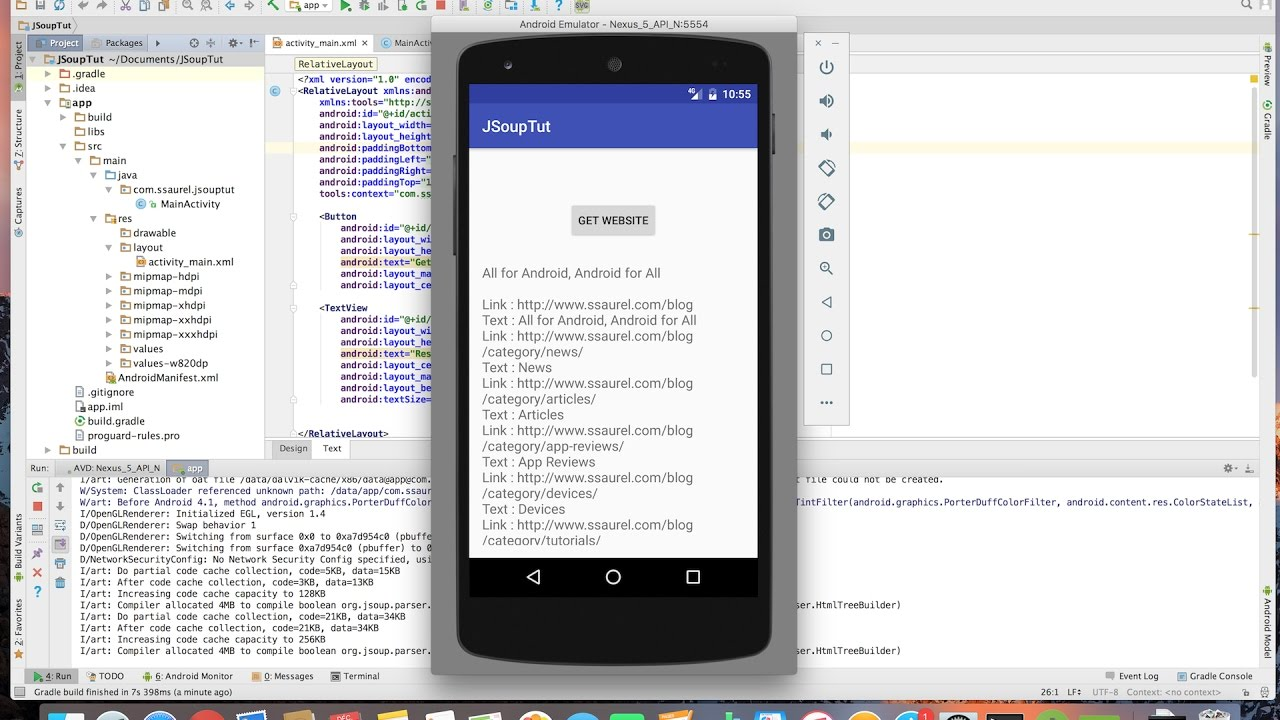 Html Android