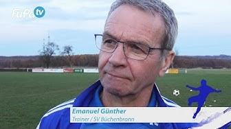 Emanuel Günther - SV Büchenbronn - zum Spiel vs. 1.FC Bauschlott im FuPa.tv-Interview am 20.11.2016