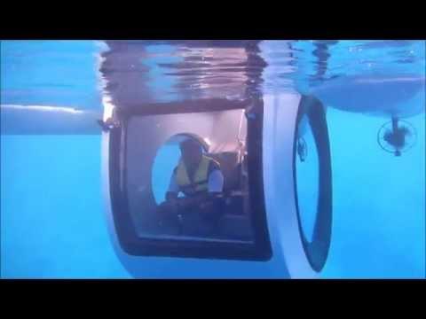 Moving Aquarium / Semi Submarine PENGUIN  by GOCEAN(소형 반잠수 레저보트/반잠수정)