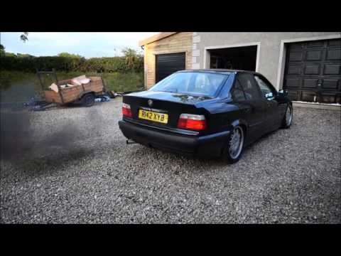 Bmw E36 2.5 TDS Exhaust Sound | Evry Mod | Full Straight Pipe | 1080p HD