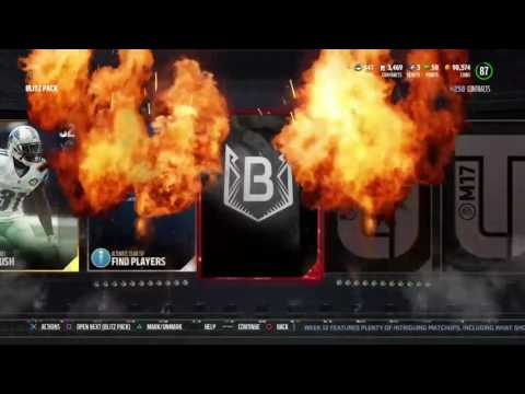 Madden 17 limited time flash back Max Unger pull!!!