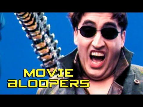 SPIDERMAN 2 Bloopers Gag Reel HD Tobey Maguire, Kirsten Dunst