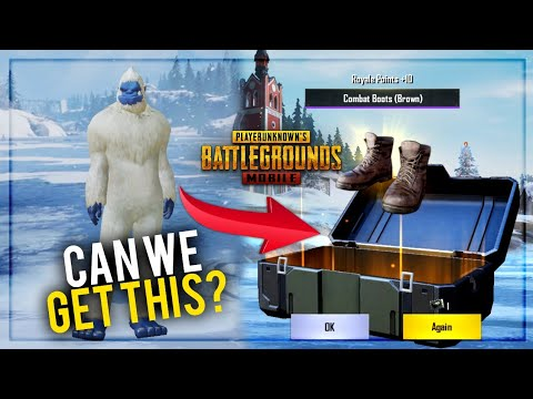 Can We Get The Yeti Suit Pubg Mobile Crate Opening Future Gaming