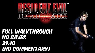 Resident Evil: Dead Aim S-Rank Complete Walkthrough with No Saves (39:10)