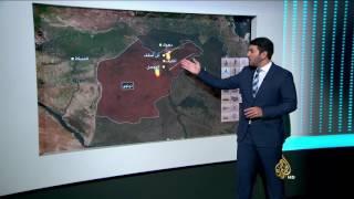 التطورات على الجبهات في الموصل