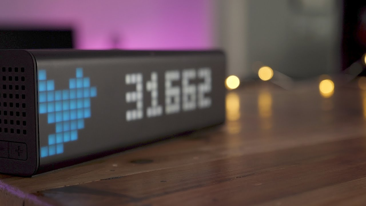 Connected clock for a Smart Home | LaMetric Time