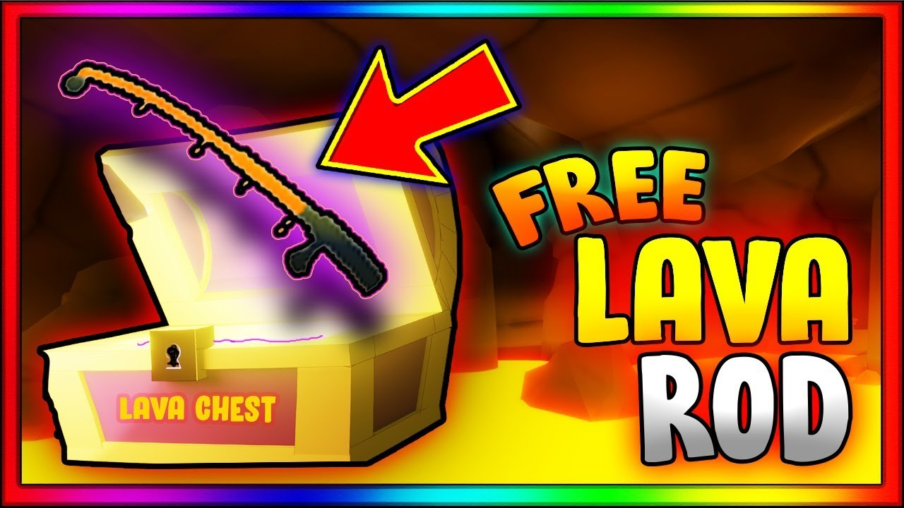 How To Get Lava Rod Free Volcano Obby Fishing Simulator