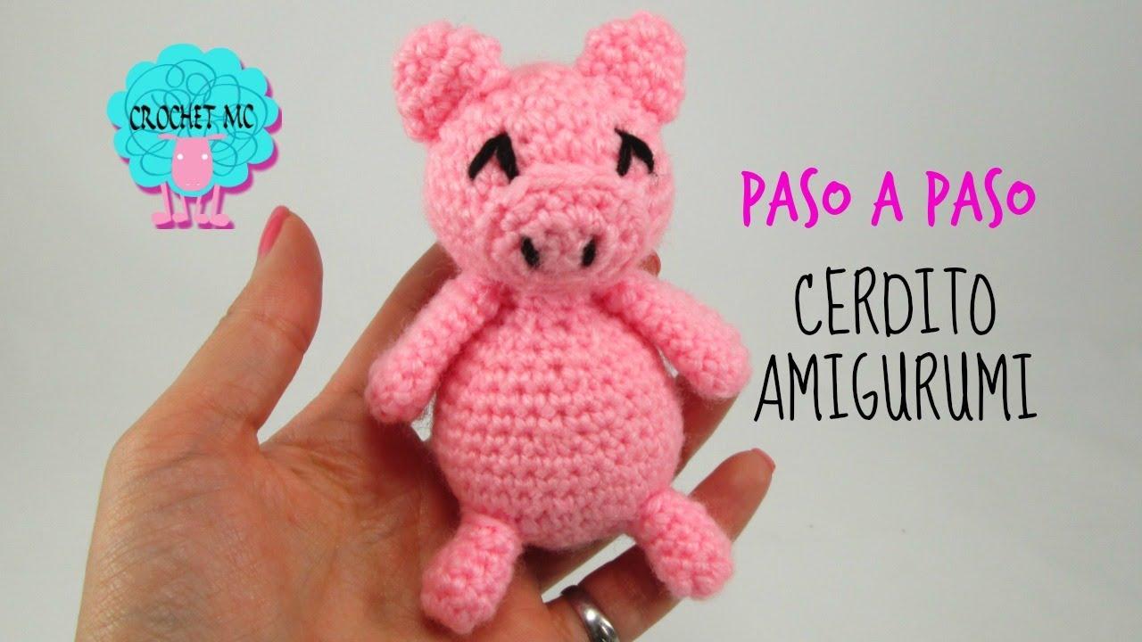 Amigurumi Gato Paso A Paso : Tutorial cerdito amigurumi youtube