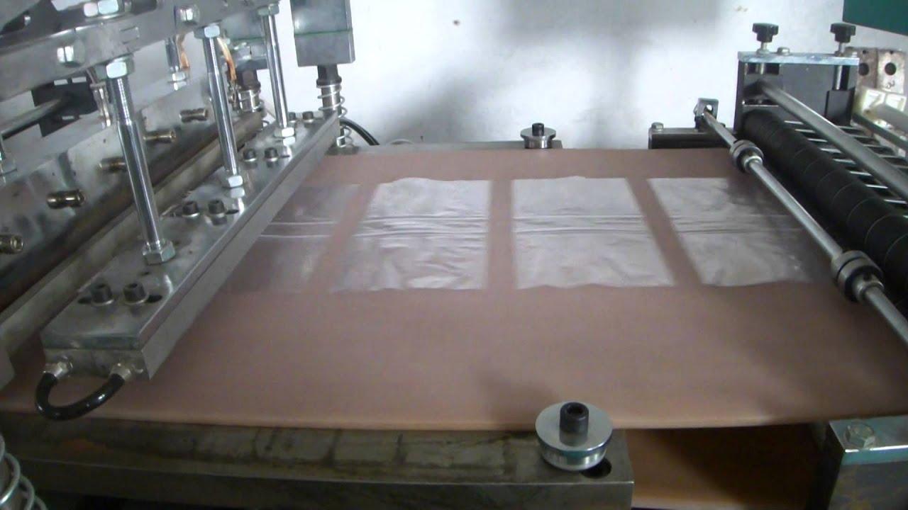 zip bag making machine