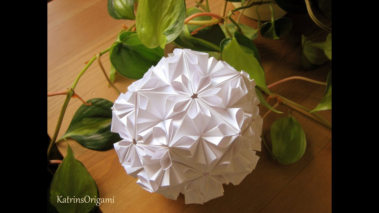 Origami Loop Kusudama YouTube