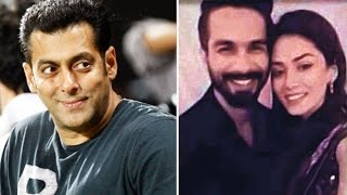 Salman Khan wants to attend Shahid Kapoors WEDDING